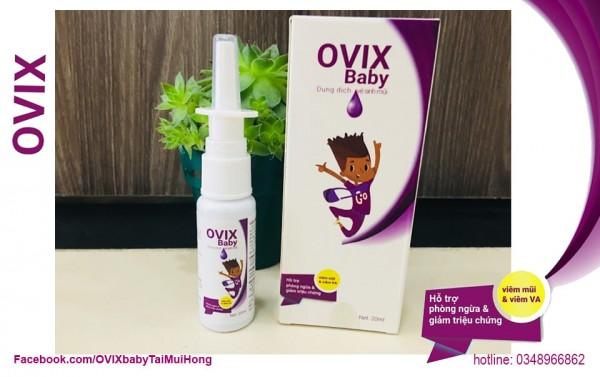 Dung dịch vệ sinh mũi cho trẻ nhỏ