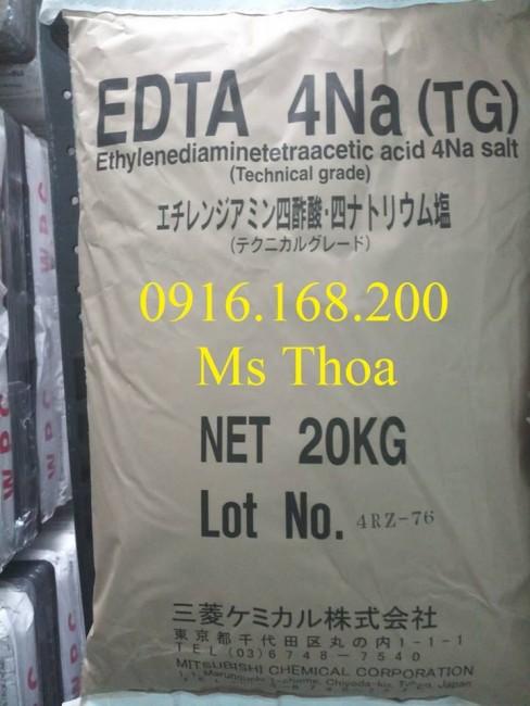 EDTA NHẬT 4NA - EDTA nguyên liệu, EDTA khử phèn, khử kim loại nặng