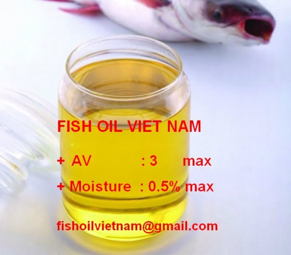 Fish Oil for animal feed