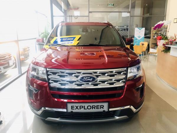 Ford Explorer Limited đời 2020, nhập khẩu nguyên chiếc từ Mỹ