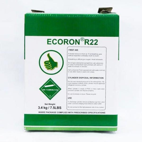 Gas lạnh 22 Ecoron 3.4Kg - Gas Ecoron 22 - Thành Đạt