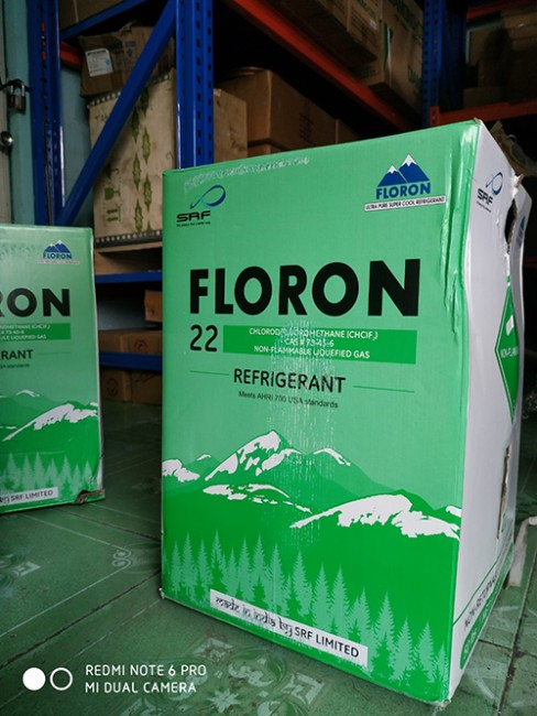 Gas R22 Floron 13.6 kg & 22.7kg
