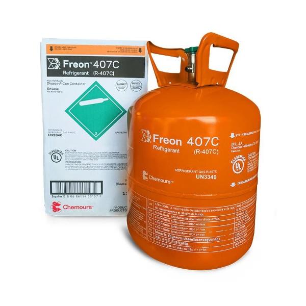 Gas R407 Chemours Mỹ - Gas Thành Đạt