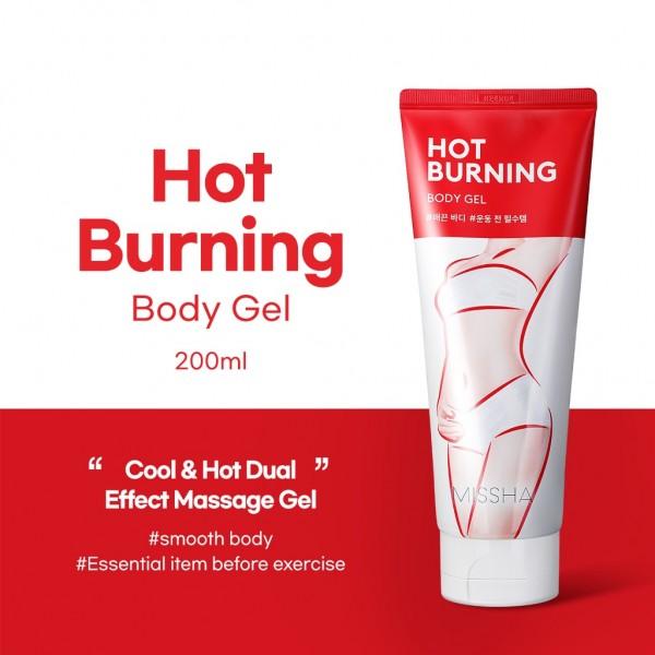 Gel tan mỡ Missha Hot Burning Body Gel - Bí quyết đánh tan mỡ thừa toàn thân hiệu quả