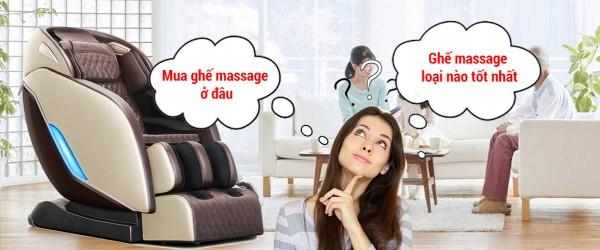 Ghế massage mua ở đâu uy tín