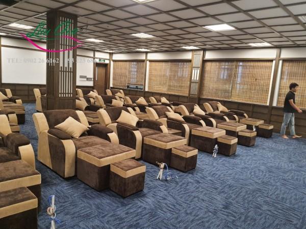 ghế matxa chân giá rẻ tại hải phòng