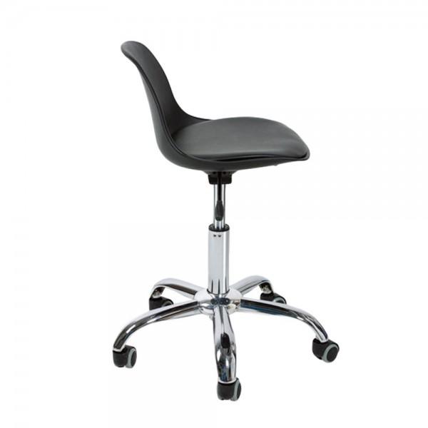 Ghế nệm chân xoay bánh xe GLM05D -Ghế ngồi gội đầu,Ghế massage xoay 360 độ