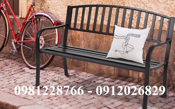 Ghế sắt công viên - Nội thất lý tưởng cho sân vườn mà bạn nên biết