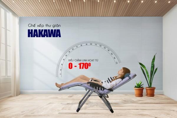 Ghế xếp nằm ngủ văn phòng Hakawa