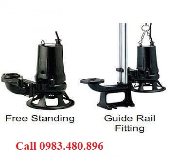 Giá bán máy bơm nước thải 2,2kw điện 3pha giá tốt nhất Call 0983.480.896