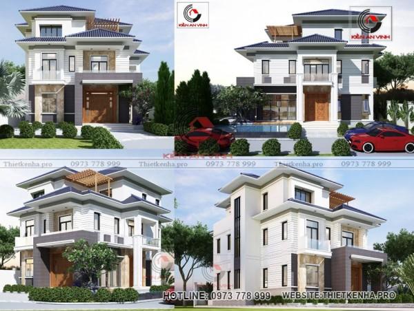 Giá biệt thự đẹp cho từng mẫu thiết kế - giá mới và tốt nhất 2020