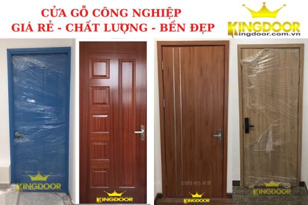 giá cửa gỗ công nghiệp mới nhất 2021 - cửa gỗ giá rẻ chất lượng - Kingdoor