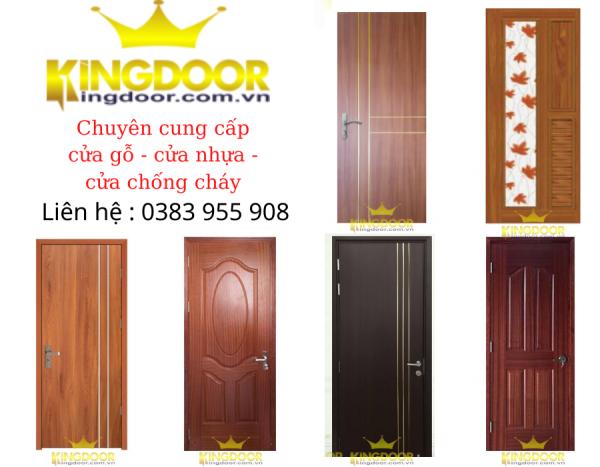 Giá cửa gỗ - cửa nhựa - cửa chống cháy mới nhất tại Kingdoor