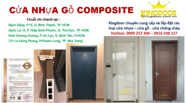 Giá cửa nhựa Composite tại Tây Ninh hiện nay - kingdoor