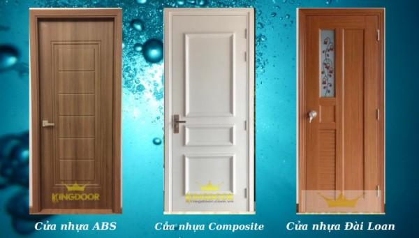 Giá cửa nhựa phòng vệ sinh - cửa nhựa giả gỗ
