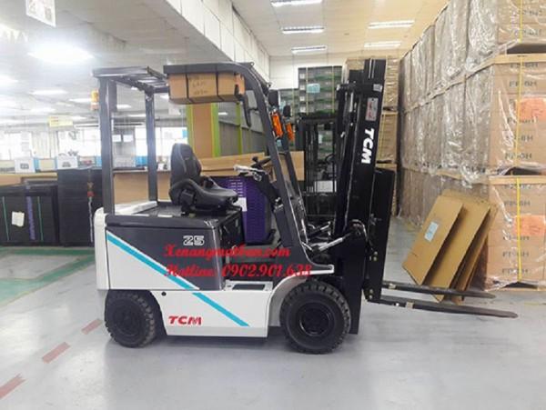 [GIÁ HỜI] Xe nâng điện ngồi lái TCM 2-3 tấn chuyên dụng uy tín TPHCM