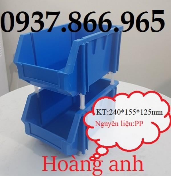 Giá kệ nhựa A6, hộp nhựa vát đầu, sản xuất khay nhựa đựng bulong ốc vít