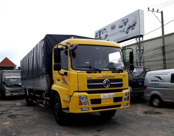 giá xe tải 8 tấn| xe tải thùng dài dongfeng hoàng huy