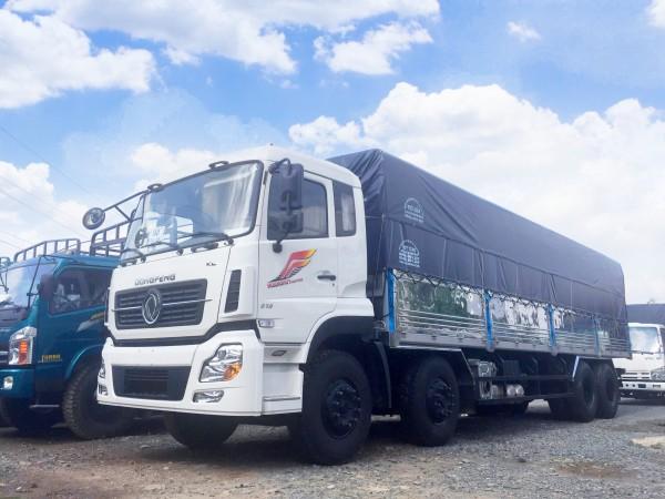 Giá xe tải dongfeng 4 chân tải 17t 9 ISL315
