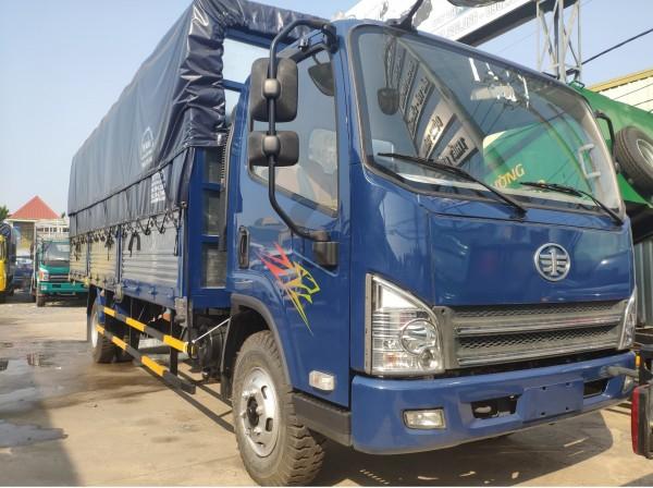 Giá xe tải faw máy hyundai- faw 8 tấn thùng dài