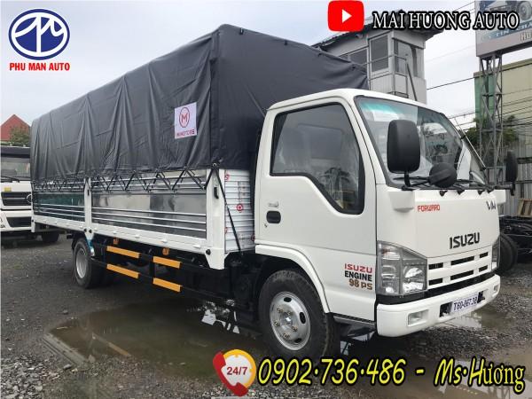 Giá xe tải Isuzu 1.9 tấn thùng dài 6m2| model 2020