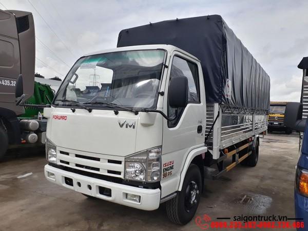 Giá xe tải Isuzu 1t9 thùng dài 6m2  Giá tốt