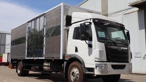 Giá xe tải thùng dài 8 tấn, xe tải faw 8 tấn thùng dài