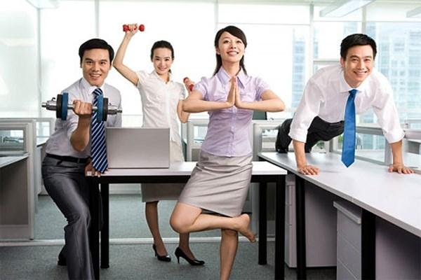 Giảm cân cho dân văn phòng hiệu quả nhanh chóng