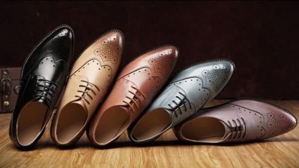 Giày da được chế tác từ những qui trình chuyên nghiệp