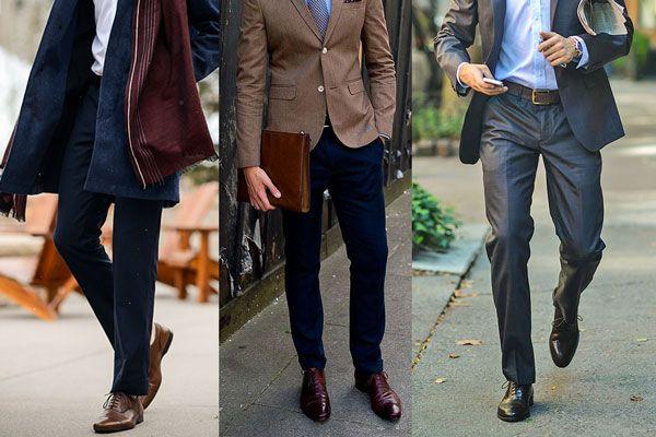 Giày da nâu và cách phối đồ chuẩn chỉnh nhất