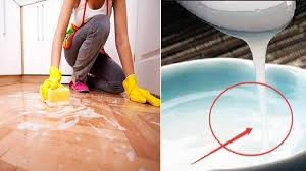 Giày, sàn gỗ sẽ sáng bóng khi lau sạch bằng sữa hết hạn lên men