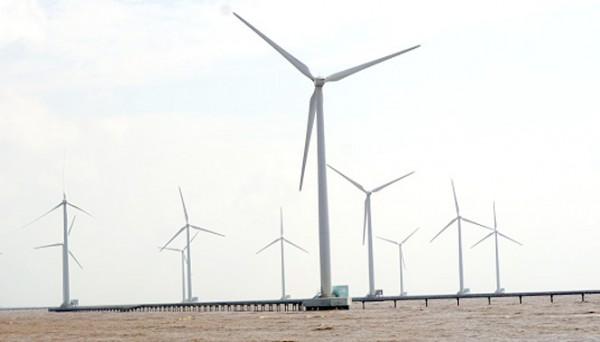 Gió nên có tiềm năng phát triển năng lượng tái tạo