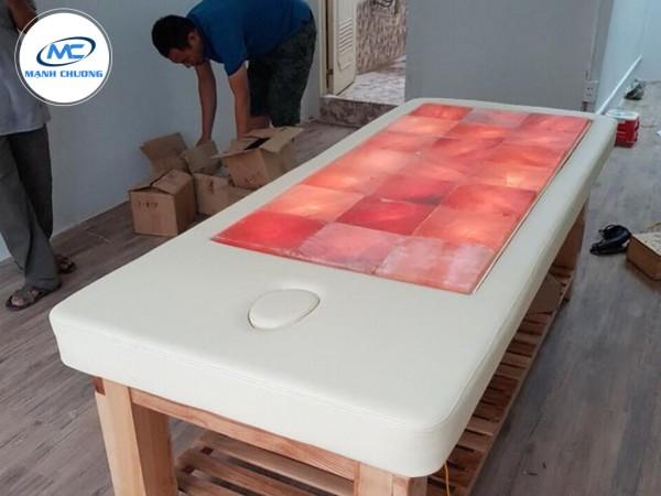 Giường Đá Muối Massage Himalaya - G02