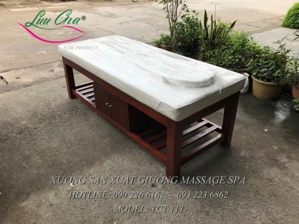 giường spa khung gỗ giá rẻ tại hải phòng