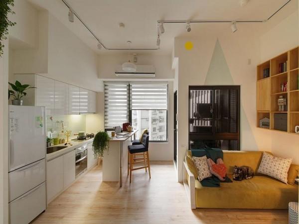 Gợi ý phân vùng hợp lý dành cho căn hộ nhỏ