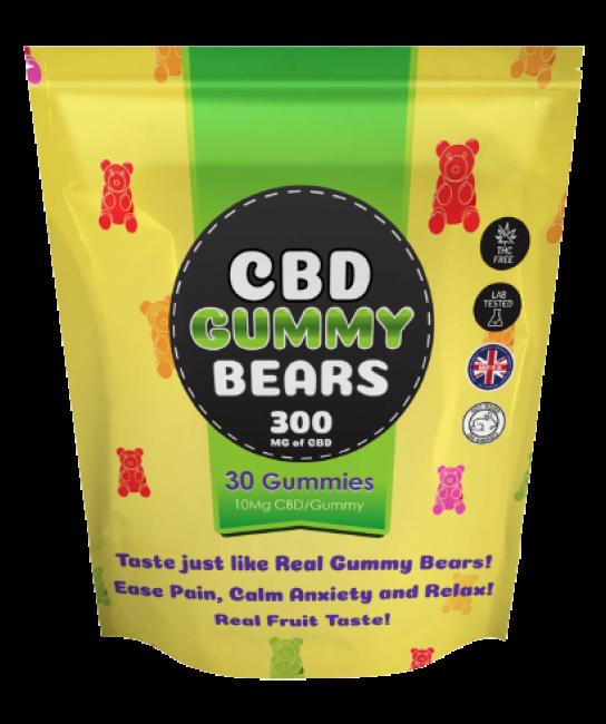 Green CBD Gummy Bears UK | How CBD Gummies is Fixing the Pains Area?