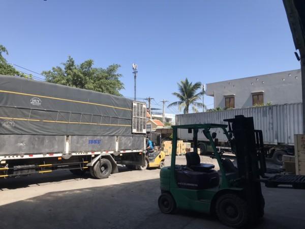 Gửi hàng lẻ bằng xe tải Bình Thuận lên chọn Saigon Corp