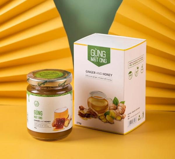 Gừng mật ong tăng cường đề kháng thơm ngon bổ dưỡng