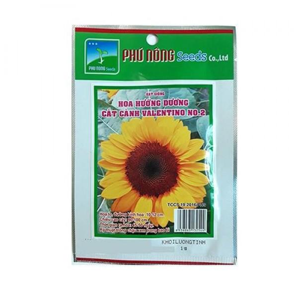 Hạt Giống Hoa Hướng Dương Cắt Cành Phú Nông Valentino NO.2