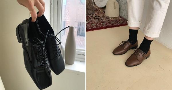 Hãy phối đồ với giày oxford da chuẩn phong cách
