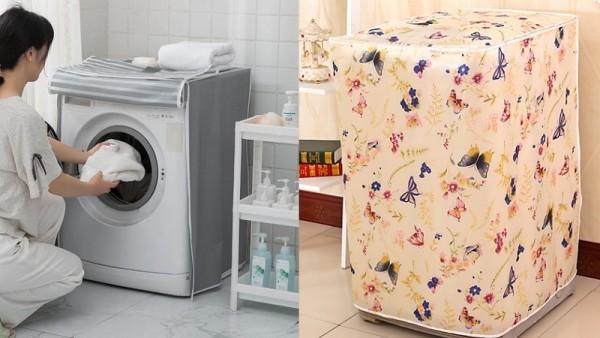 Hãy tận dụng hết lợi ích của áo trùm máy giặt