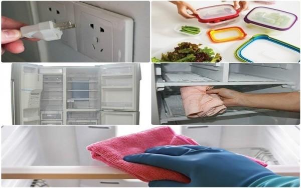 Hãy thử qua những mẹo vặt sau để khử mùi hôi tủ lạnh một cách hiệu quả