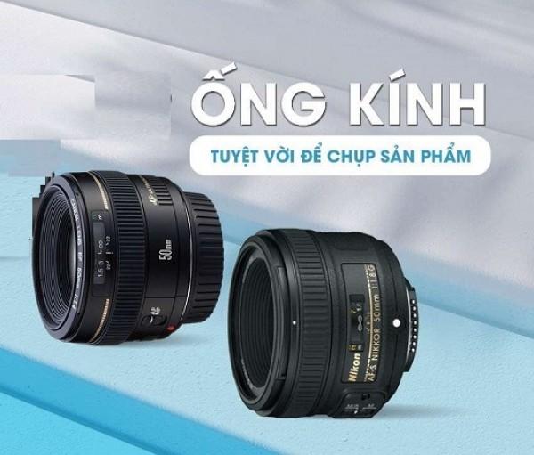 Hé lộ 9 mẫu ống kính tốt nhất chụp sản phẩm hiện nay