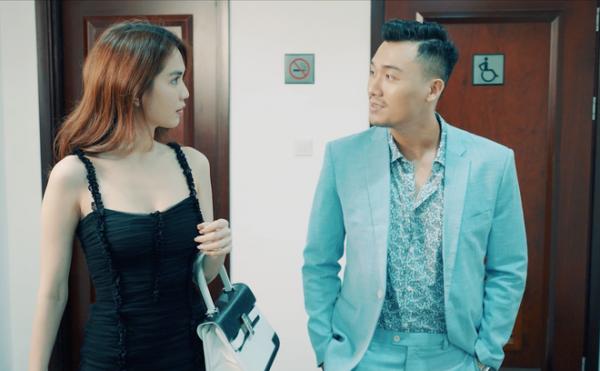 Hé lộ cảnh nóng của Ngọc Trinh trong phim 'Chị mẹ học yêu'