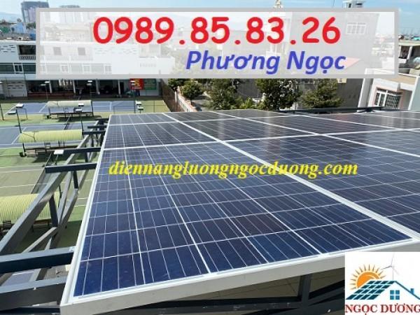 Hệ thống điện mặt trời hòa lưới công suất 3KW, combo nối lưới điện mặt trời