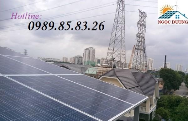 Hệ thống điện năng lượng mặt trời hòa lưới 8,75 kW 03 pha, hệ thống điện mặt trời giá tốt