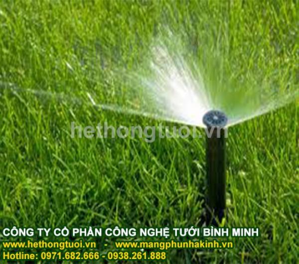 Hệ thống tưới, hệ thống tưới thông minh,hệ thống tưới sân vườn, hệ thống tưới cảnh quan