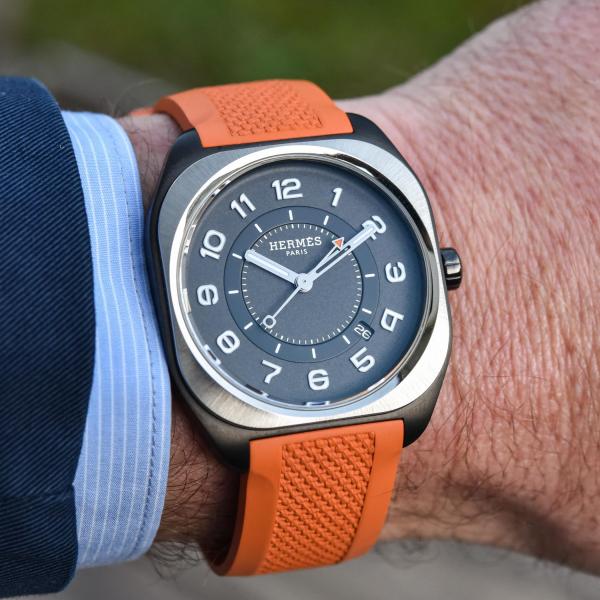 hermes trình làng bst đồng hồ nam mới- H08 watch collection