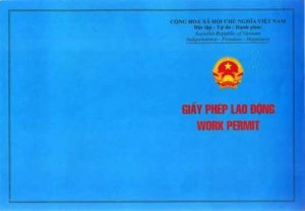 Hồ sơ cấp giấy phép lao động - Chức Danh Giám Đốc Điều Hành