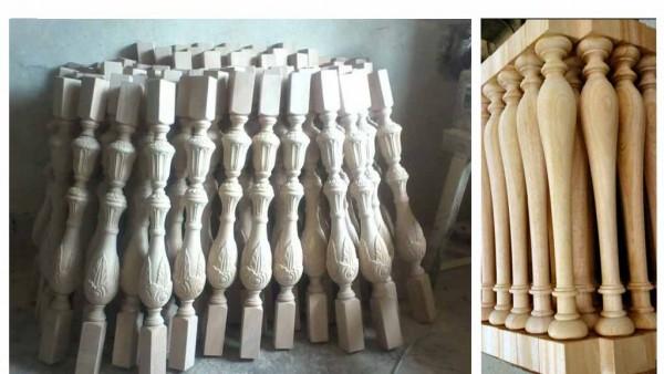 Hỗ trợ các đơn vị thương mại xuất khẩu sản phẩm tiện gỗ theo yêu cầu.